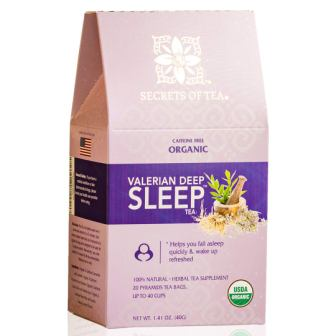Valerian Tea for Sleep by Secrets of Tea