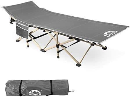 ARAER Portable Foldable Camping Cot
