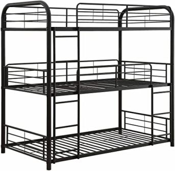 Cairo model triple bunk bed from ACME Furniture