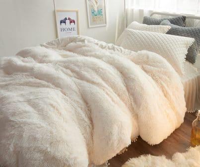 Ceruleanhome 1pc 100% Velvet Flannel Duvet Cover