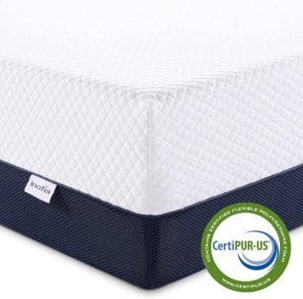 Inofia 10-Inch Gel Memory Foam Hybrid Mattress