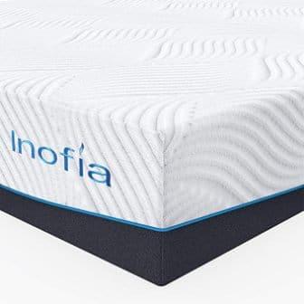 Inofia 11-Inch Egg Crate Memory Foam Mattress