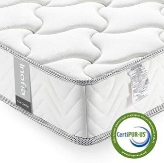 Inofia 8-Inch Memory Foam Mattress