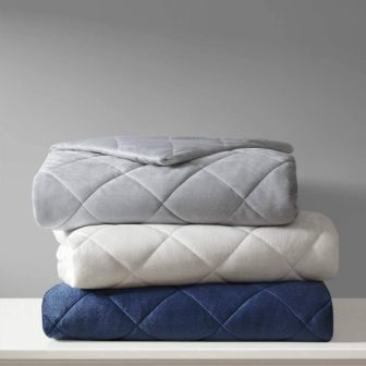 Luxury Quilted Weighted Blanket from Beautyrest