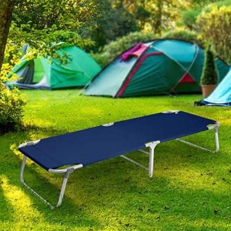 Magshion Portable Military Fold-Up Camping Bed/Cot