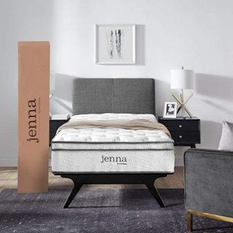 Modway Jenna 10-Inch Pillow Top Innerspring Mattress