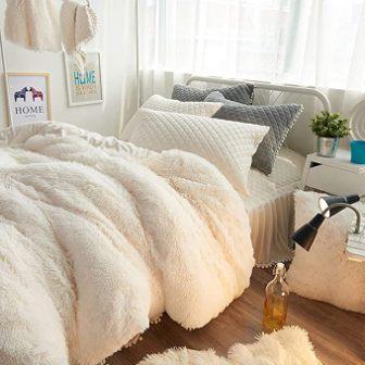 Uozzi Plush Flannel Duvet Cover