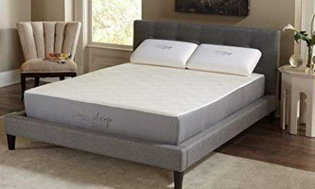 800LP333 Gel Memory Foam Mattress from Nature's Sleep - Twin Size