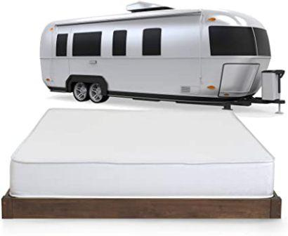 BESTSELLING Travel Comfort 8″ SHORT QUEEN Gel Memory Foam Mattress
