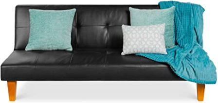 Best Choice Products Convertible Futon Sofa Recliner