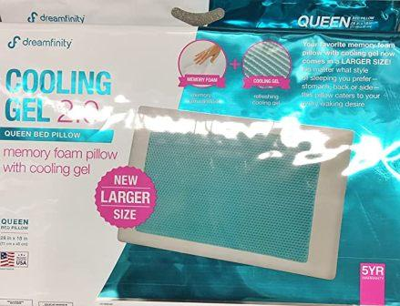 Comfort Revolution Memory Foam cum Hydraluxe Cooling Pillow