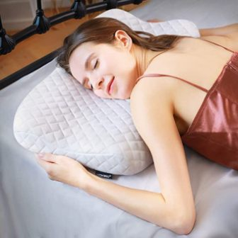 Ergonomic cervical pillow by HOKEKI Pillow