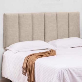 Haobo Queen/Full Adjustable Velvet Upholstered Headboard