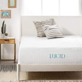 LUCID 14 Inch Memory Foam Mattress Review