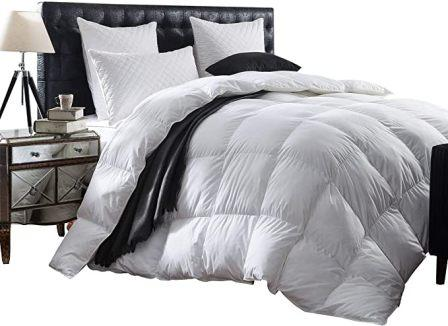 Luxurious 1200 Thread Count Goose Down Comforter