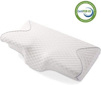 MARNUR Contour Memory Foam Cervical Pillow