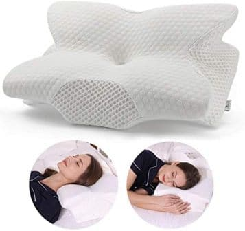 MFP001-Wht Back Support Pillow by Coisum