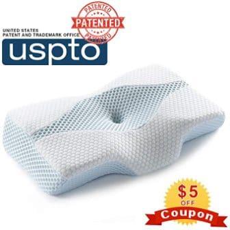 Mkicesky Contour Memory Foam Pillow