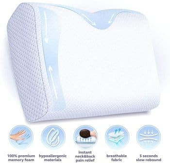 Orthopedic pillow for shoulder and neck by BODESY