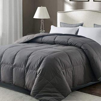 ROSECOSE Luxurious All-Season Goose Down Comforter King Size