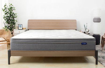 Sweetnight Pillow-Top 10-Inch Spring Mattress.