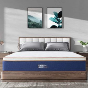 BedStory Latex Memory Foam & Pocket Spring Mattress