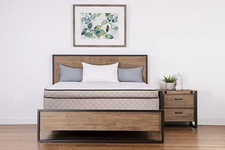Dreamfoam Bedding Elements 12-Inch Latex Mattress