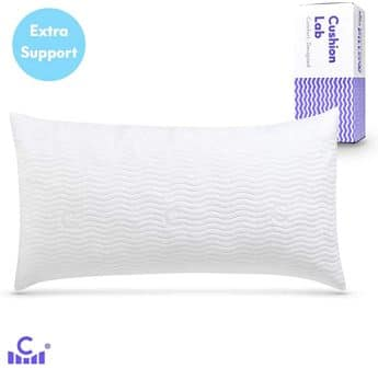 King-size adjustable pillow by C Cushion Lab