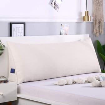 LOVEU Bolster Headboard Backrest Pillow