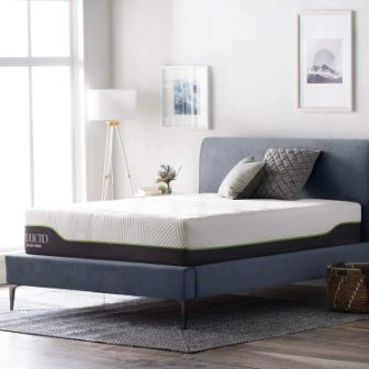 LUCID 12-Inch Latex Hybrid Mattress