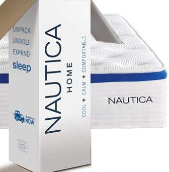 Nautica Home 12-Inch Renew Hybrid Innerspring Mattress