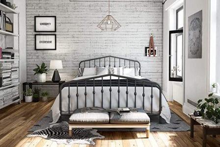 Novogratz Bushwick Queen Bed Frame