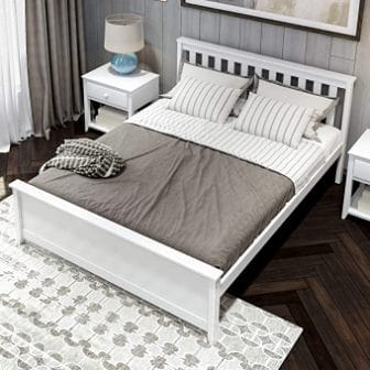 Plank & Beam Solid Wood Queen Bed Frame