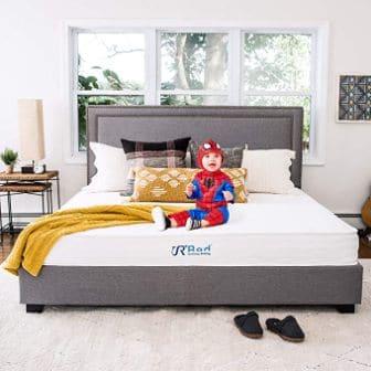 Sunrising Bedding 8-Inch Natural Latex Hybrid Mattress