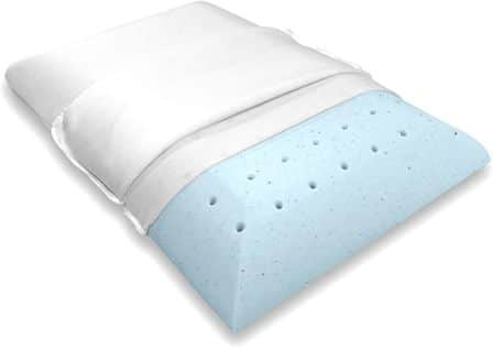 Therapeutic stomach sleeper pillow by Bluewave Bedding