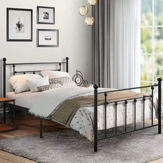 VECELO CLASSIC STYLE BED FRAME