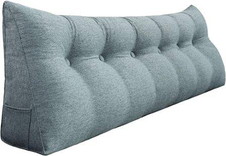 Vercart Upholstered Headboard Reading Pillow