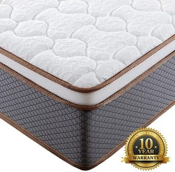 10-inch King-size mattress by BedStory