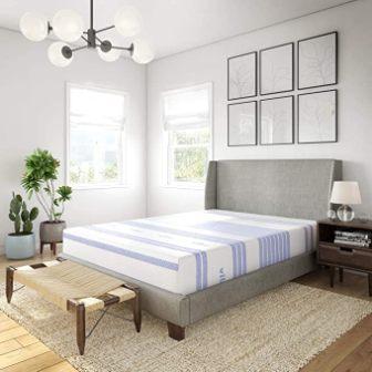 12-inch gel foam mattress by Vibe