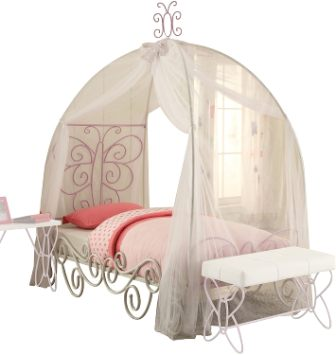 ACME Furniture Priya II Canopy Twin Bed