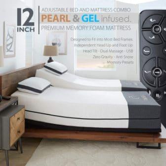 Ananda Premium Adjustable Bed Frame