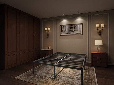 Aromustime Metal Platform Bed Frame