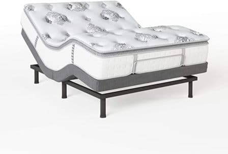 Classic Brands Mercer Mattress with Adjustable Bed Base