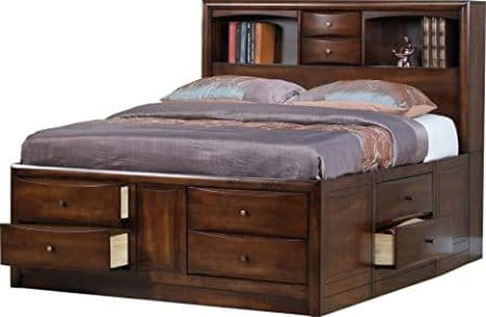 Coaster Hillary Eastern Bookcase Bed