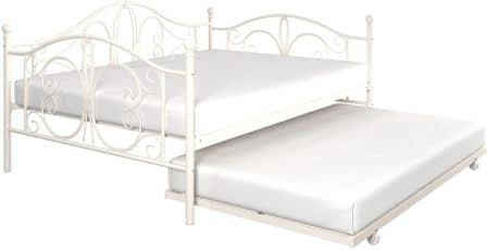 DHP Bombay Daybed Frame with Twin Size Trundle