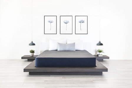 """DreamFoam Bedding 8"""" Chill Gel Memory Foam Mattress"""