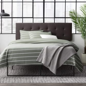 Everlane Home Hawthorne Faux Leather Headboard