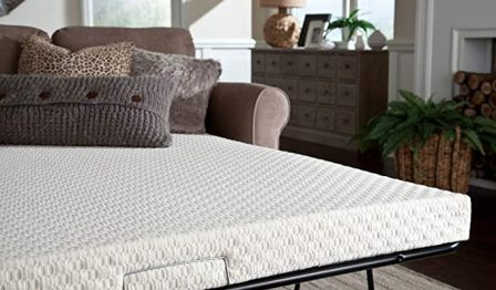 Full-size latex mattress by PlushBeds