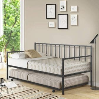 Giantex Daybed and Trundle Frame Set