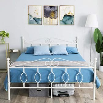GreenForest Queen Bed Frame